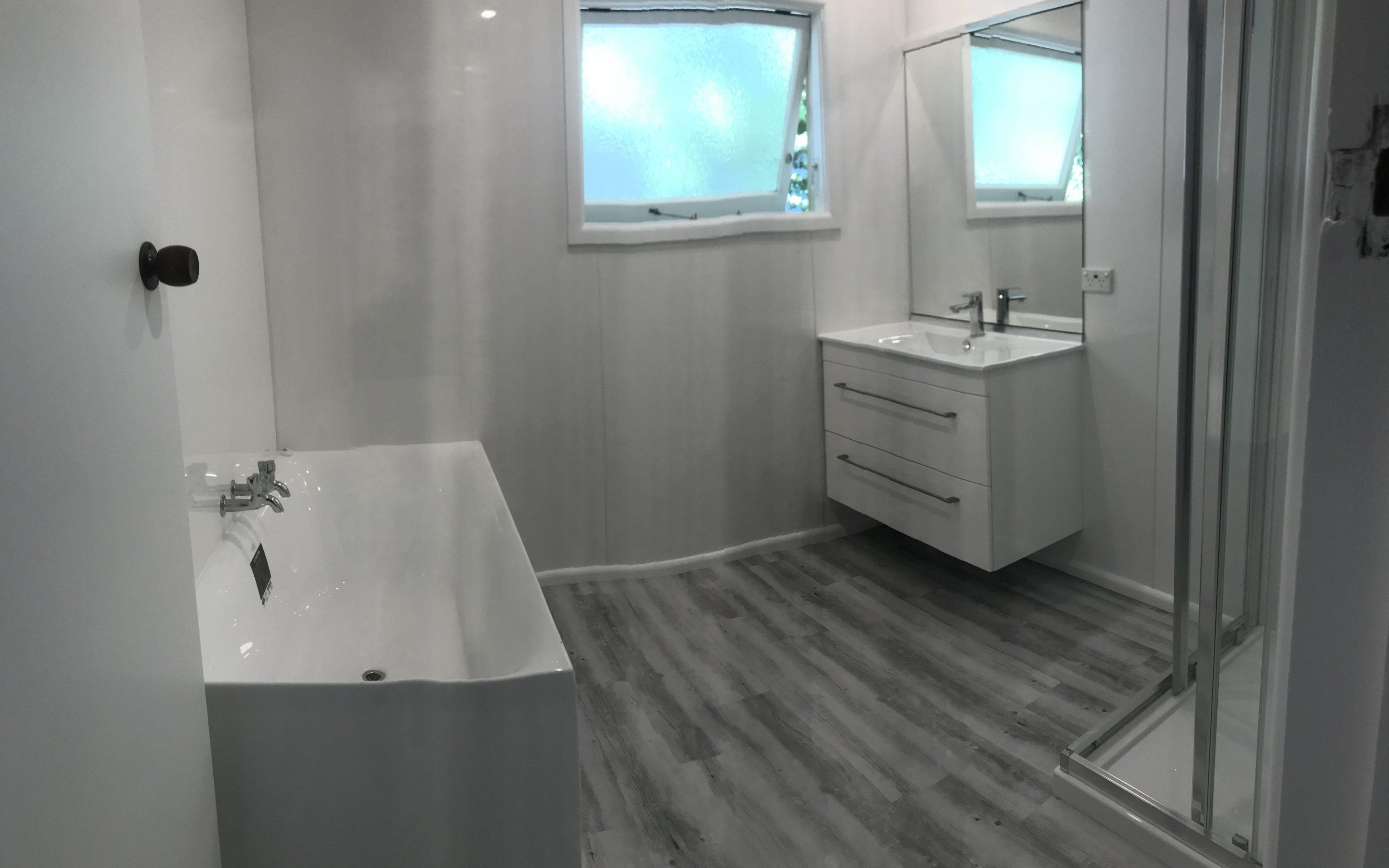 Laundry and Bathroom Renovation - Bowers Builders